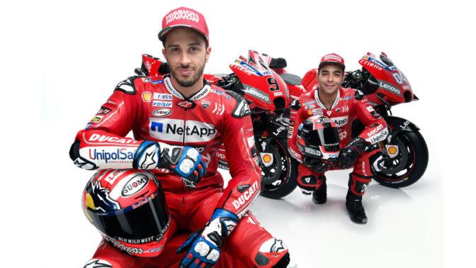 Andrea Dovizioso e Danilo Petrucci - Ducati Racing Team 2019