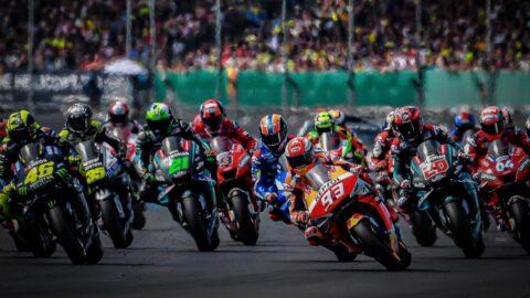 MotoGP - prima staccata